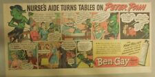 Ben-Gay Ad: Peter Pain: Nurses Aide Turns Tables ! 7.5 x 14 inches