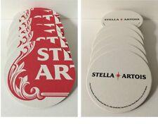 "Stella Artois STAR Art Series Round Beer Coasters 4"" - 25 Pack - NEW & F/Shippin"