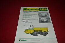 Payhauler 350B Tanker Truck Dealer's Brochure MFPA2