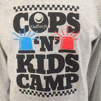 New Australia Cops Police Kids Children Camp Challenge Long Sleeve T-Shirt LG