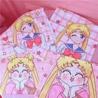 Sailor Moon Bath Towels Cotton Handkerchief Soft Face Towel Washcloth  gift