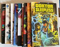 Lot of 9 Random TPB Graphic Novel Doktor Sleepless Noble Causes Dynamo 5 Shazam