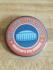 We Saved the Dome Baseball Lapel Pin Houston Astros Astrodome Limited Edition