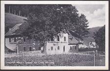 """9110 Mürzsteg Heinrich Mayer`s Gasthaus """"Zur Linde"""" - Bezirk Bruck-Mürzzuschlag"""
