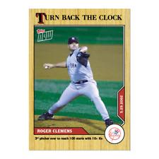 2020 MLB TOPPS NOW Turn Back the Clock #60 Roger Clemens New York Yankees