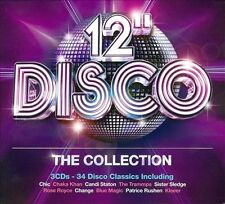 "12"" Disco: The Collection by Various Artists (CD, Oct-2013, 3 Discs, Rhino..."