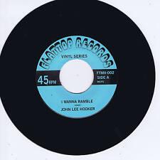 JOHN LEE HOOKER - I WANNA RAMBLE (Monster VEE-JAY BLUES BOPPER - Alt) ROCKABILLY