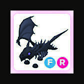Fly Ride Shadow Dragon FR Roblox Adopt Me Pet