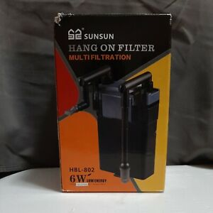 Sunsun Hang On aquarium Filter HBL-802 - USED