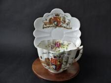 1897 Queen Victoria Diamond Jubilee Souvenir Cup & Saucer by The Foley China