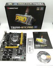 BIOSTAR Tb250-btc Pro LGA 1151 Intel B250 SATA 6gbs USB 30 ATX Motherboard