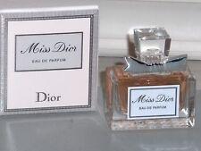 MISS DIOR by CHRISTIAN DIOR Womens Eau De Parfum .17 oz, 5 ml, Mini, Splash, NIB