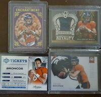 Brock Osweiler Rookie Card lot of 4!