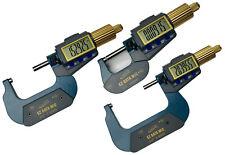 "iGAGING IP54 EZ Data Micrometer 0-3"" (3 tools)"
