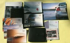 Rare! 2003 Audi Rs6 Owners Manual Rs6 Leather Case Maintenance Sound Warranty