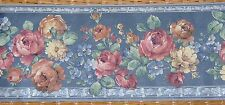 Satin Romance Flowered Wallpaper Border