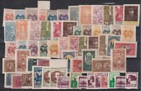 Middle (Central) Lithuania 1920-1922 Selection of 61 Unused stamps