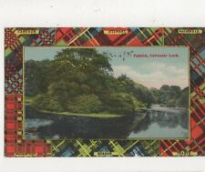 Falkirk Callandar Loch Vintage Postcard 548a