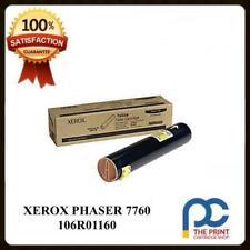 NEW & ORIGINAL XEROX PHASER 7760 YELLOW TONER CARTRIDGE 106R01162