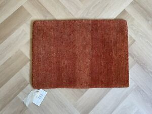 2'x3' Hand-knotted 100% Wool Tufenkian Rug Sprouts Rhubarb Walnut MSRP $525