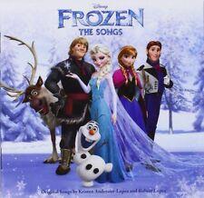 FROZEN: THE SONGS CD WALT DISNEY ORIGINAL FILM SOUNDTRACK OST / NEW
