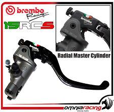 Brembo Radial Handbremszylinder PR15RCS Anlenkung verstellbar Motard Bremspumpe