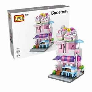 LOZ Street Mini Cake shop Kids Puzzle Mini Block Brick Toy w/Box