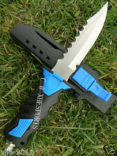 Scuba Diving Camping Hunting Fishing Stainless High Quality Dive Knife Blue DP