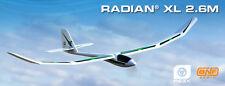 E-Flite Eflite Radian XL 2.6m RC Remote Control Glider Sailplane BNF EFL5550