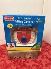 1998 Vintage Playskool Easy Loader Talking Camera Uses 110MM Film