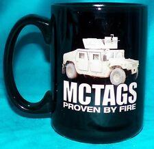 USMC HumVee MCTAGS BAE Marine Corps Transparent Armor Gun Shield Coffee Mug Cup
