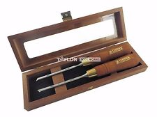 Skew Paring Chisels In Wooden Box Narex Pair Right Amp Left 6 Mm 14 851656