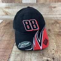 Dale Jr. 88 NASCAR Hat Red Black Winners Circle Amp Energy Embroidered Cap