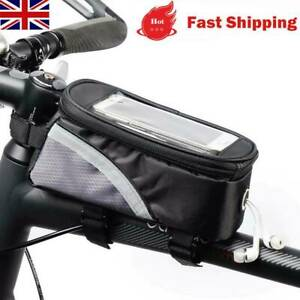 Waterproof Bicycle Moilbe Phone Frame Bag Moutain/Road Bikes Touched Screen Bag
