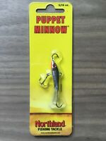 "Northland Tackle Puppet Minnow Darter Glow Redfish 1 oz 3 1//2/"""