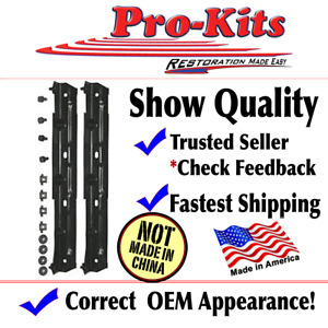 MADE IN USA!! 22 Dodge Plymouth Fits B & C Body Fan Shroud Brackets CORRECT!