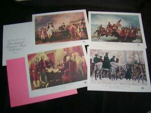 U.S. STAMP SHEETS - Bicentennial Souvenir Sheets, Mint, Collection of 4, Lot E