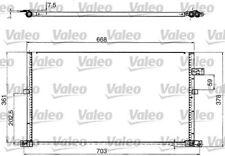 1 Condenseur, climatisation VALEO 817657 convient à FORD