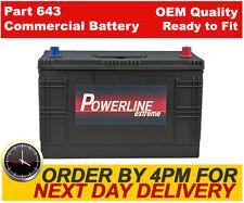 Varta G1 Commerial Industrial Heavy Duty Battery 12v 2 Year 643/645 90Ah 540CCA