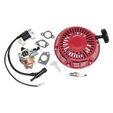Recoil Air Filter Carburetor Ignition Coil Plug For Honda GX340 11HP GX390 13HP