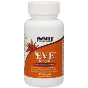 Now Foods, Eve Women's Multiple Vitamin, 90,120,180,Softgels,Tablets,Capsules