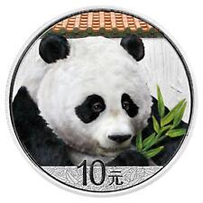 China - 10 Yuan 2018 - Panda - 30 gr. Silber in Farbe - Stempelglanz in Kapsel