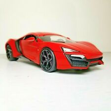 Lykan Hypersport Diecast Model Car From Fast And Furious 7 Scale 1:24 Jadatoys