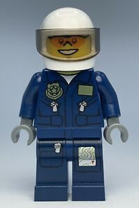 Lego City Police FOREST POLICE - HELICOPTER PILOT Minifigure cty0267 FAST SHIP!