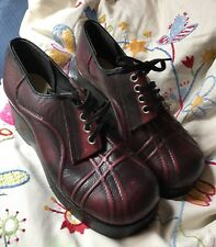 Original 1970s Platform Shoes UK Size 2 New & Unused Lace Ups