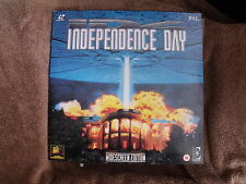 INDEPENDENCE DAY LASERDISC PAL 2LD MINT