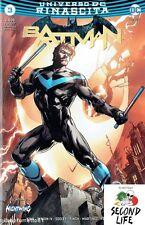 BATMAN 3 RINASCITA COVER ULTRAVARIANT - REBIRTH LION COMICS - UNIVERSO DC NUOVO