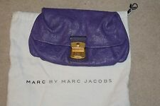 Marc By Marc Jacobs Purple Clutch Bag