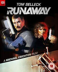 RUNAWAY- Tom Selleck sci fi (1984). Region B Blu ray
