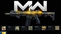 Call Of Duty Modern Warfare PS4 1 Gold Weapon Guaranteed!!